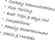 Pembrokeshire Fish Week Information
